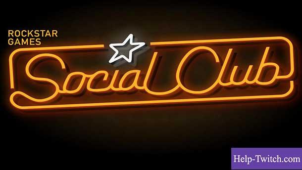 привязать twitch к social club